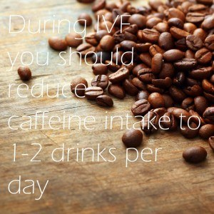 caffeine intake during IVF